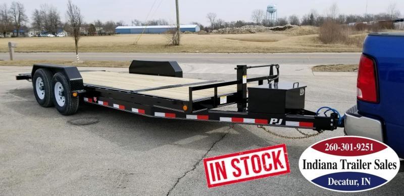 2019 PJ Trailers T6202 82x20 Equipment Trailer - Tilt