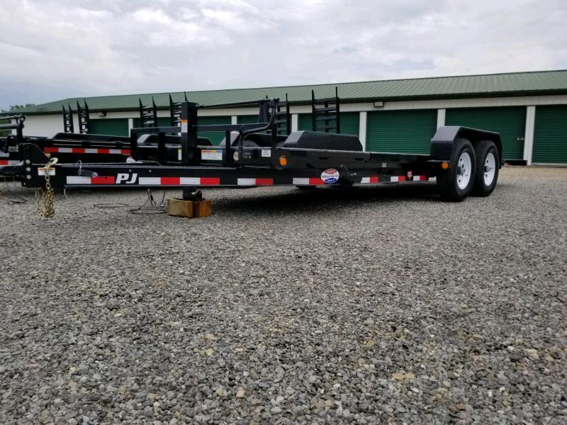 2020 PJ Trailers TJ2072 82x20 Equipment Trailer Tilt