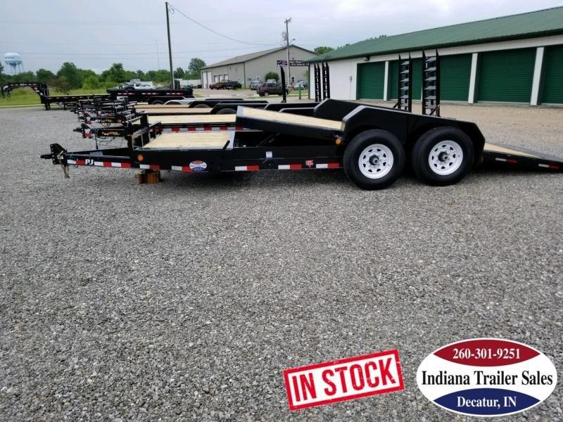 2020 PJ Trailers TJ2072 82x20 Equipment Trailer Tilt in Ashburn, VA