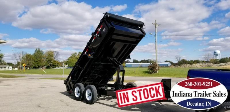 2019 PJ Trailers DL142 Dump Trailer