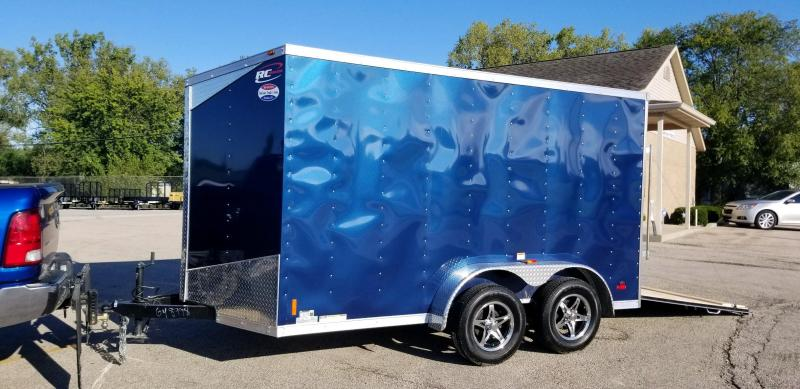 2019 RC Trailers RWT7x12TA2 Enclosed Cargo Trailer