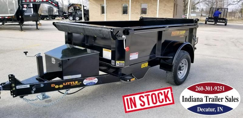 2019 Doolittle Trailer Mfg MD6085KSC Dump Trailer
