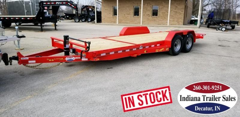 2019 Doolittle Trailer Mfg GT82x2214K Equipment Trailer Tilt
