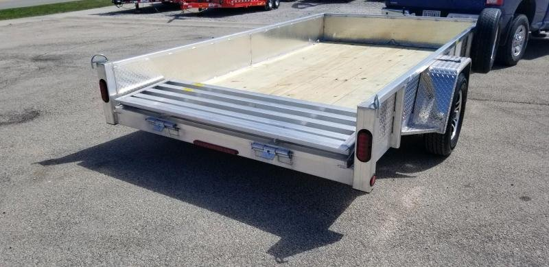 2020 Quality Steel and Aluminum 6x12 - 7412ALDX3.5KSA Utility Trailer