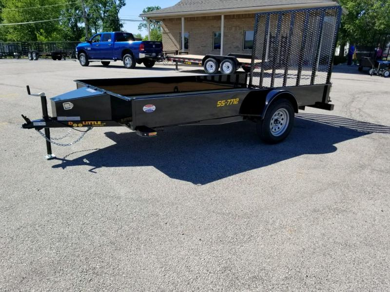 2019 Doolittle Trailer Mfg UT77X123K-SS Utility Trailer