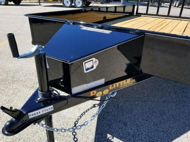 2019 Doolittle Trailer Mfg UT77X123K-SS Utility Trailer