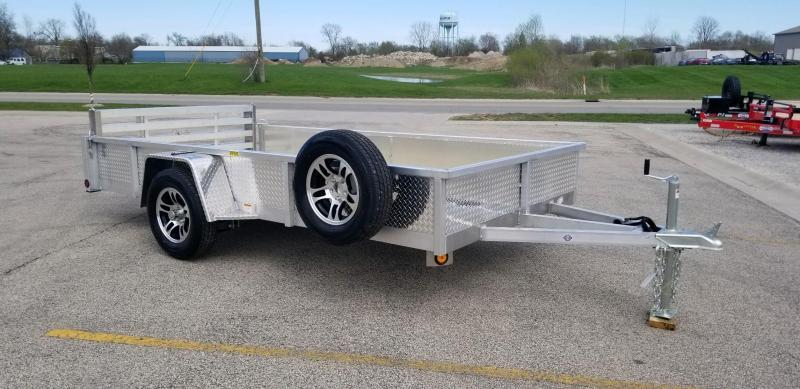 2020 Quality Steel and Aluminum 6x12 - 7412ALDX3.5KSA Utility Trailer