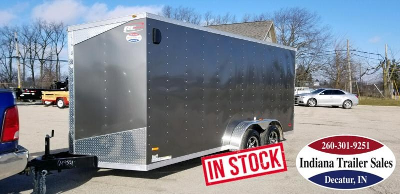 2019 RC Trailers RWT7x16TA2 Enclosed Cargo Trailer