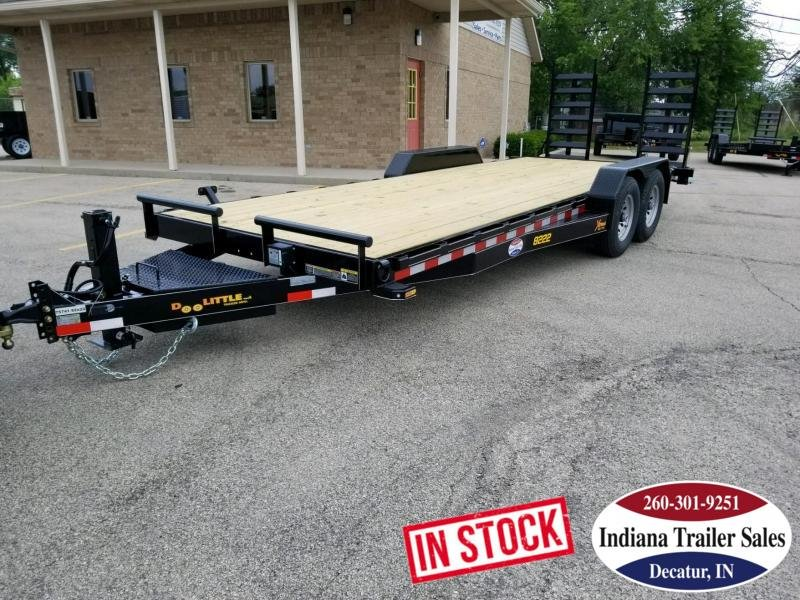 2018 Doolittle Trailer Mfg XT822214K Equipment Trailer