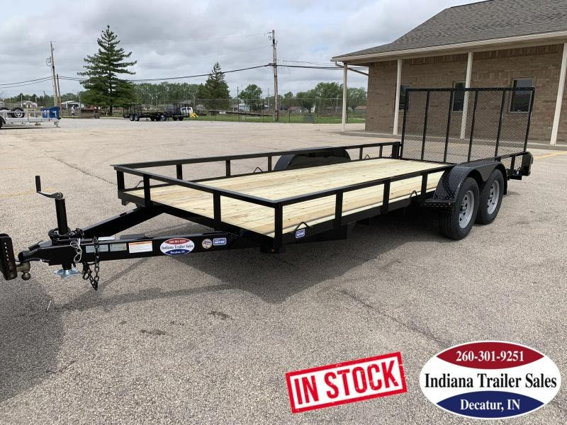 2019 Nation Tank and Trailer 83x18 Haul All Utility Trailer