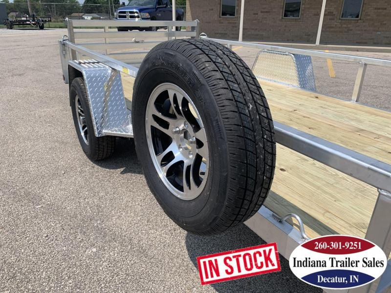 2020 Quality Steel and Aluminum 7412ALDX3.5KSA Utility Trailer