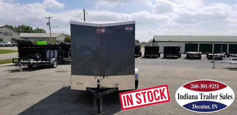 Rental - 2018 American Hauler Industries AR612SA Enclosed Cargo Trailer
