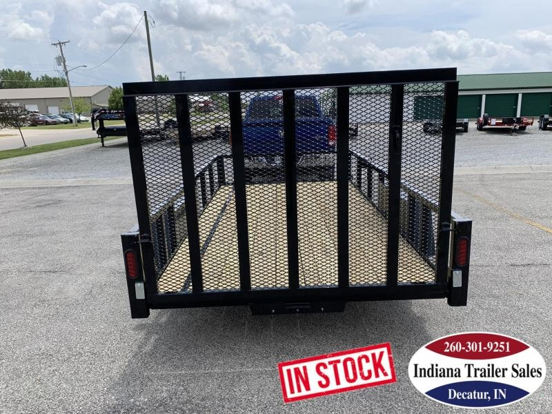 2020 Quality Steel and Aluminum 6x12 - 7412AN3.5KSA Utility Trailer