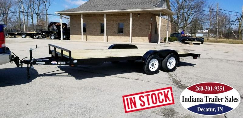 2019 Nation Tank and Trailer 18FT OCC/ANGLE Car / Racing Trailer