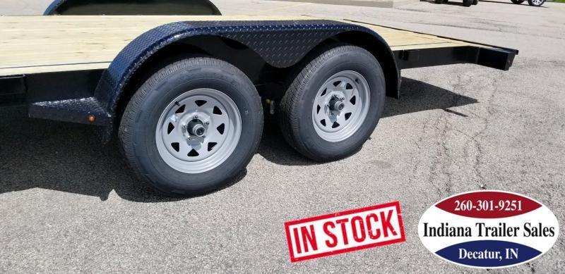 2019 Nation Tank and Trailer 81x18FT OCC/ANGLE Car / Racing Trailer