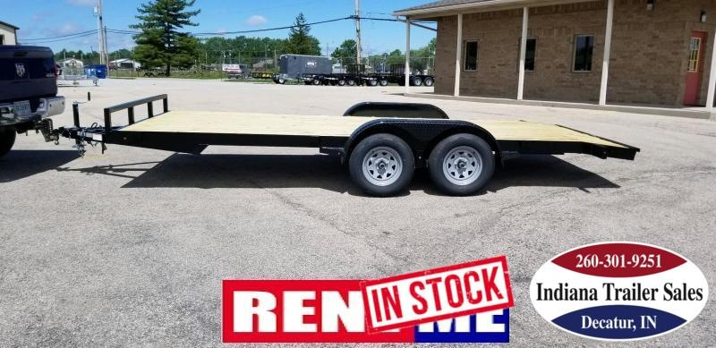 RENTAL - 2019 Nation Trailer 7x18FT OCC/ANGLE Car / Racing Trailer