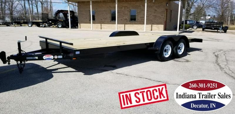 2019 Nation Tank and Trailer 20FT OCC/ANGLE Car / Racing Trailer