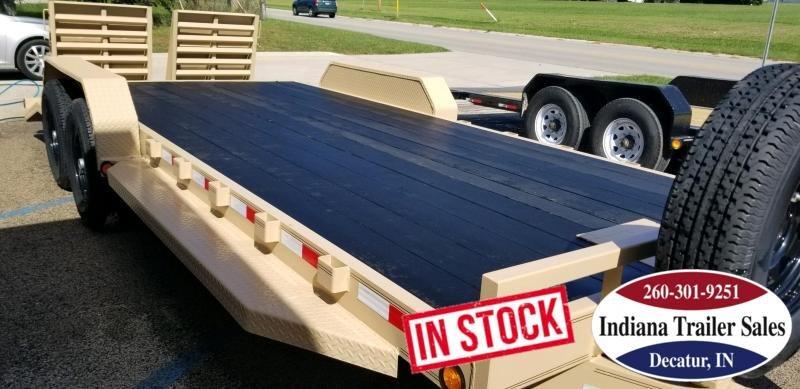 2019 PJ Trailers CC202 83x20 Equipment Trailer in Ashburn, VA