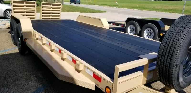2019 PJ Trailers CC202 83x20 Equipment Trailer
