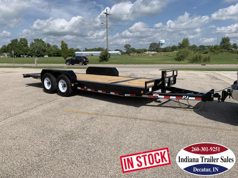 2020 PJ Trailers TJ202 82x20 Equipment Trailer Tilt