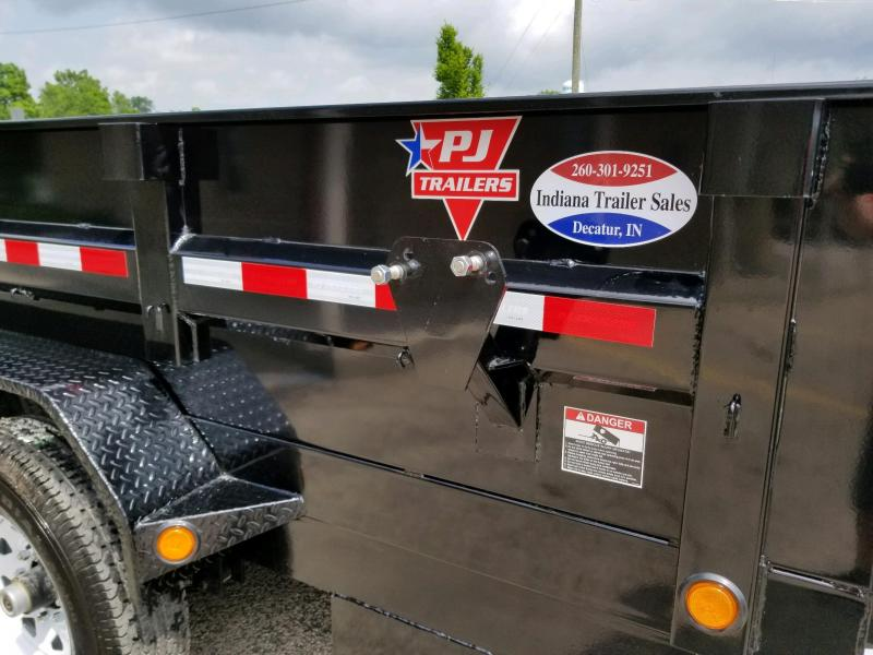 2019 PJ Trailers D7122 Dump Trailer