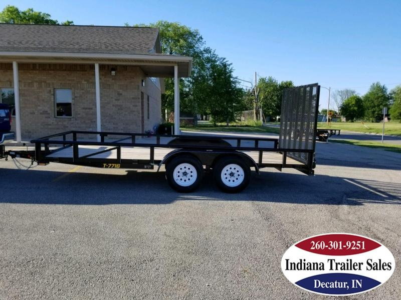 2018 Doolittle Trailer Mfg UT77X167K Utility Trailer