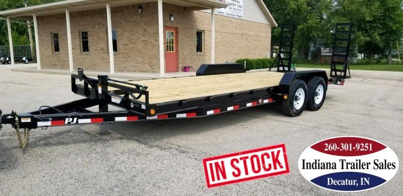 2019 PJ Trailers CC222 Equipment Trailer