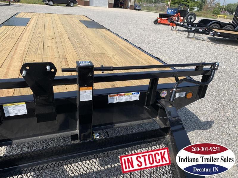 2020 PJ Trailers 96x22 F8222 Equipment Trailer | Flatbed