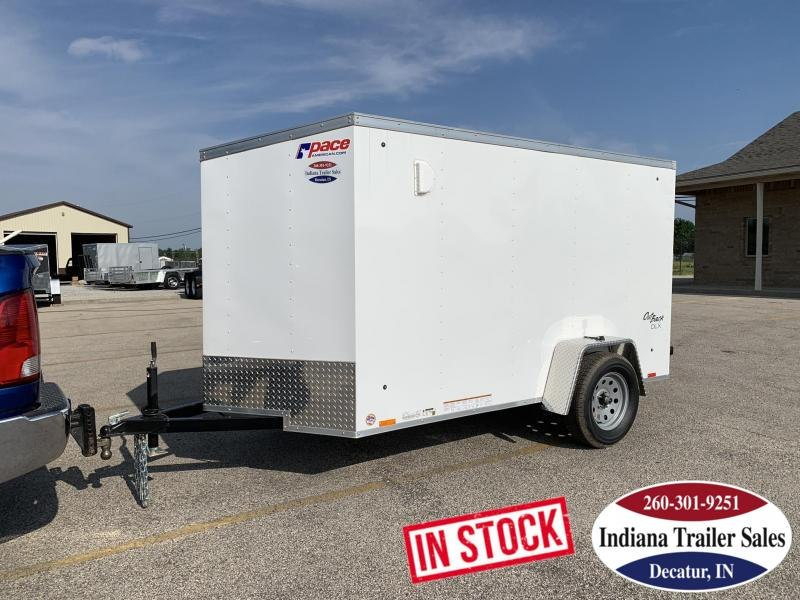 2020 Pace American OB5X10S12 Enclosed Cargo Trailer