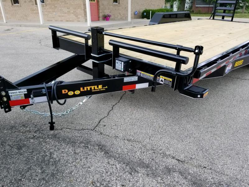 2019 Doolittle Trailer Mfg XT822014K Equipment Trailer
