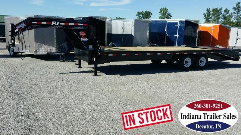2019 PJ Trailers fsr2572 102x25 Equipment Trailer