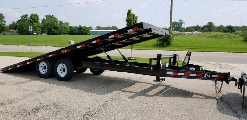 2019 PJ Trailers T8222 Equipment Trailer Tilt
