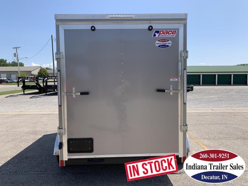 2020 Pace American JV6X12TE2SE Enclosed Cargo Trailer