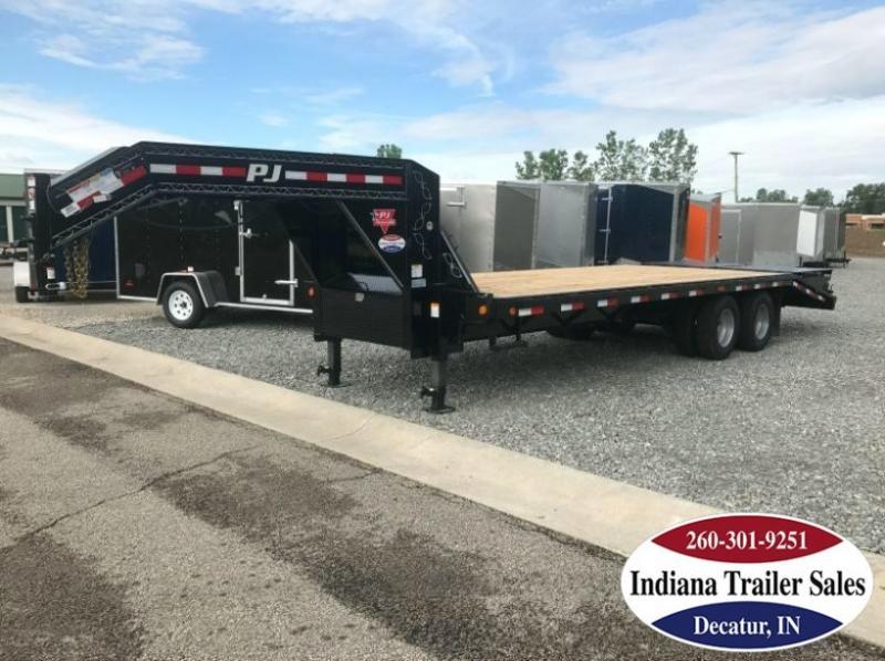2020 PJ Trailers FDR252 102x25 Equipment Trailer