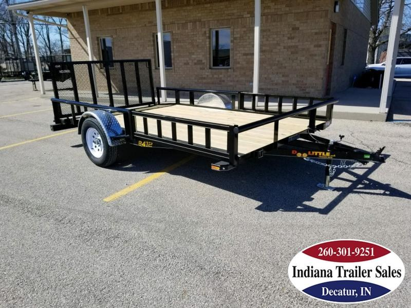 2018 Doolittle Trailer Mfg UT84x123K Utility Trailer