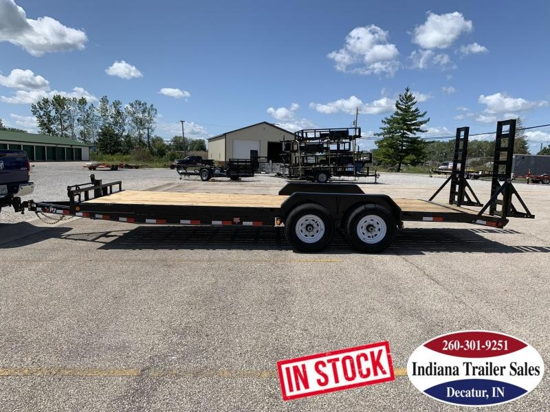 2020 PJ Trailers CC222 83x22 Equipment Trailer