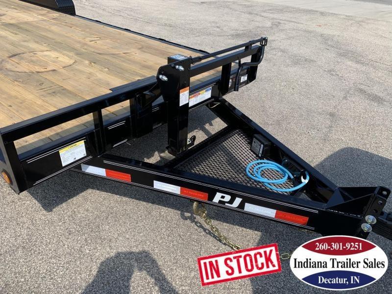 2020 PJ Trailers 80x22 CC222 Equipment Trailer