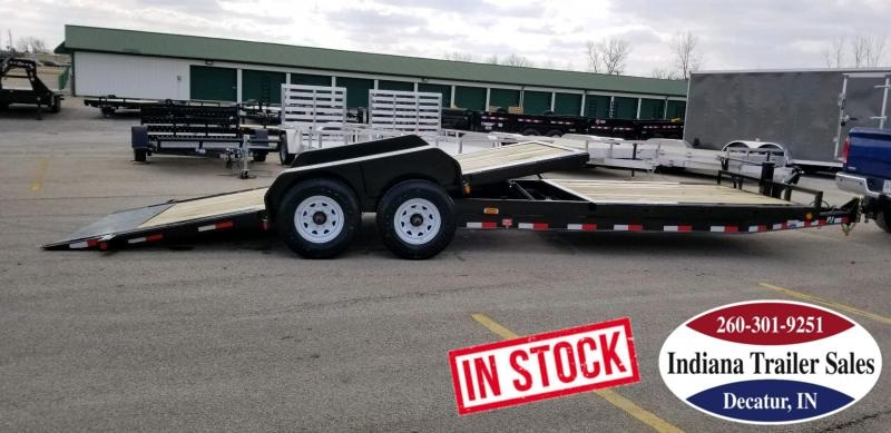 2020 PJ Trailers TJ242 82x24 Equipment Trailer Tilt