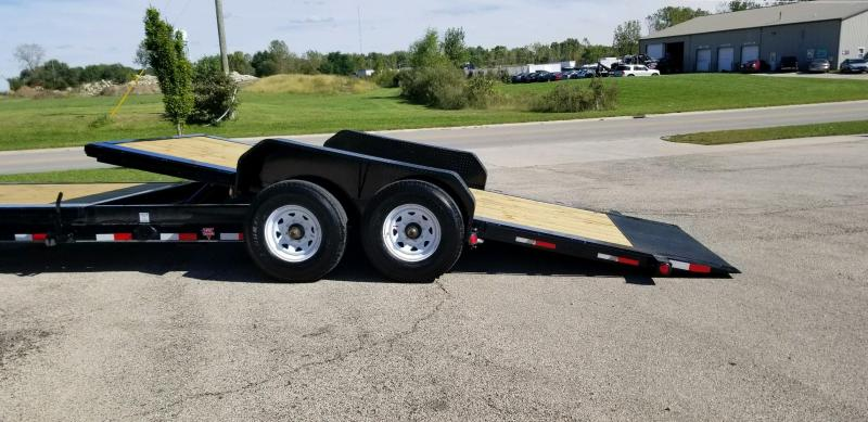 2020 PJ Trailers TJ242 Equipment Trailer Tilt