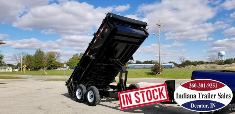 2020 PJ Trailers DL142 Dump Trailer