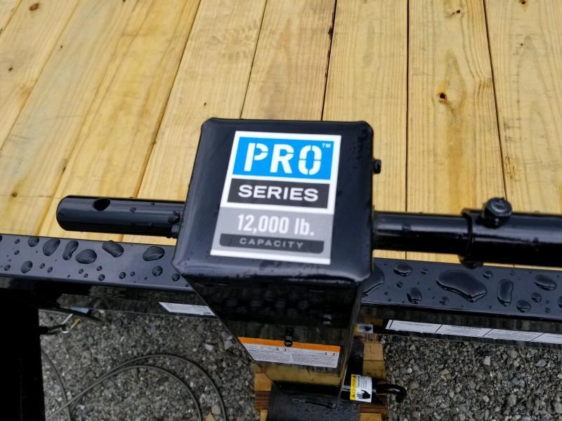 2019 PJ Trailers TJ2072 Equipment Trailer Tilt
