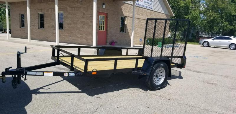 2019 Nation Tank and Trailer 5x10 Haul All Utility Trailer