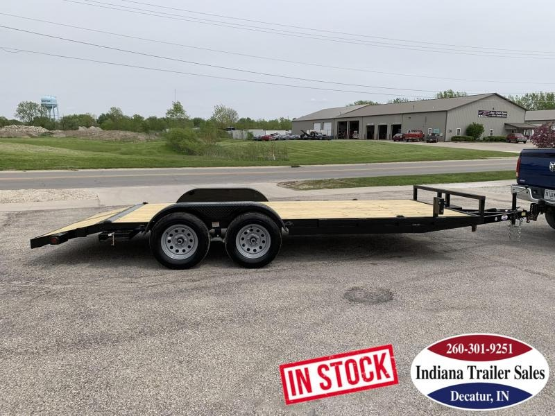 2020 Quality Steel and Aluminum 8318CH7K Car / Racing Trailer