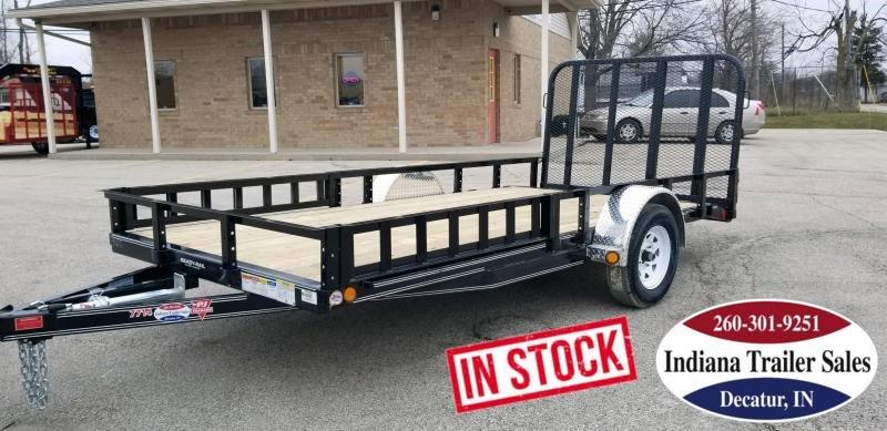 2020 PJ Trailers U7141 77x14 Utility Trailer in Ashburn, VA