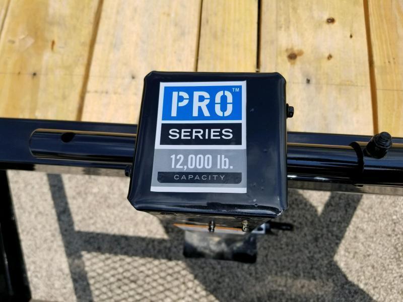 2019 PJ Trailers CC182 83x18 Equipment Trailer