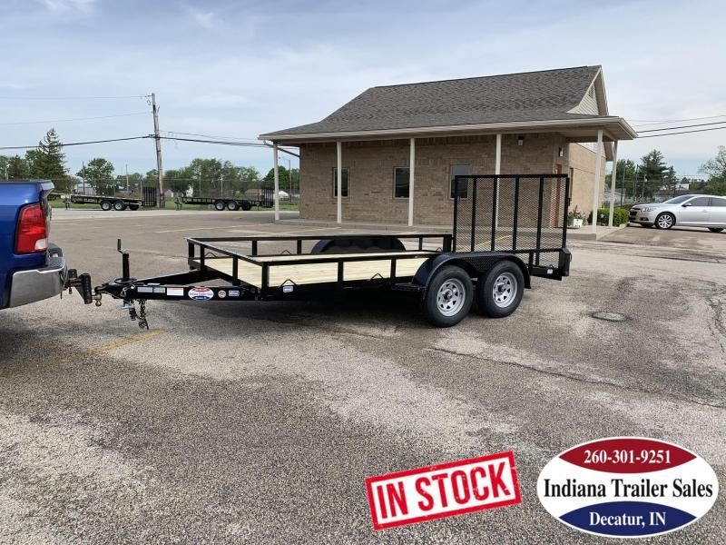 2019 Nation Tank and Trailer 83x14 Haul All Tandem Axle Utility Trailer in Ashburn, VA