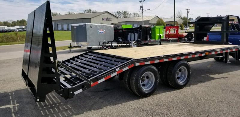 2019 Doolittle Trailer Mfg 102x20 BruteForce Gooseneck Equipment Trailer
