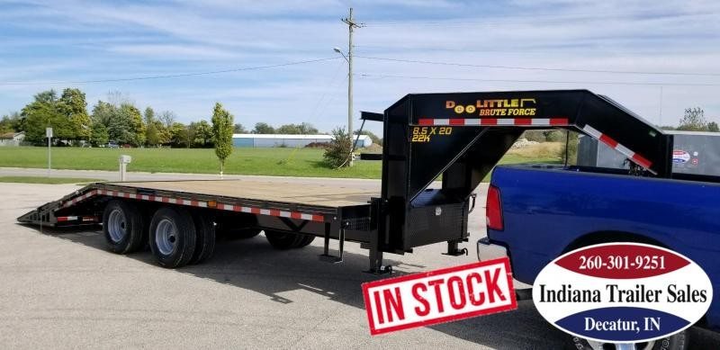2019 Doolittle Trailer Mfg BruteForce Gooseneck Equipment Trailer