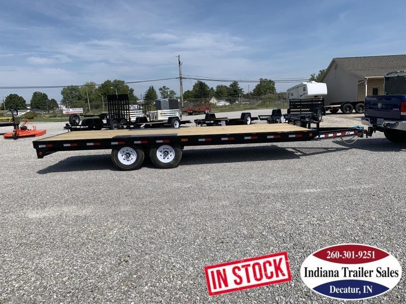 2020 PJ Trailers 96x22 F8222 Equipment Trailer