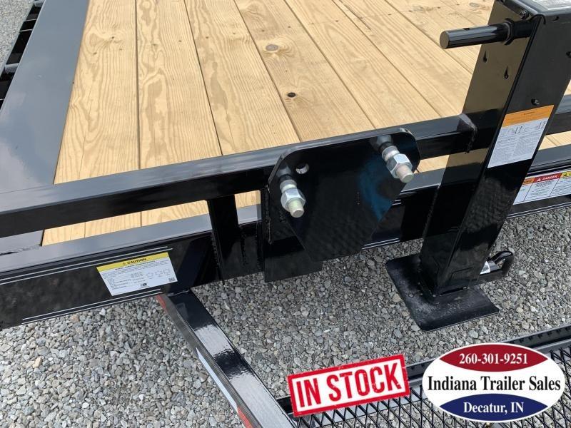 2020 PJ Trailers TJ222 82x22 Equipment Trailer Tilt